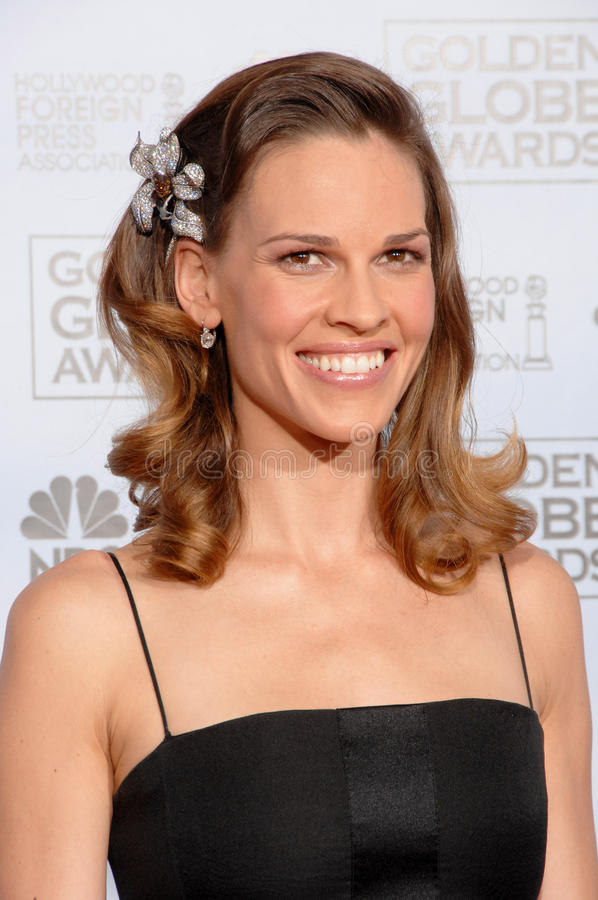 Download Hilary Swank editorial photography. Image of annual, 64th - 24290567