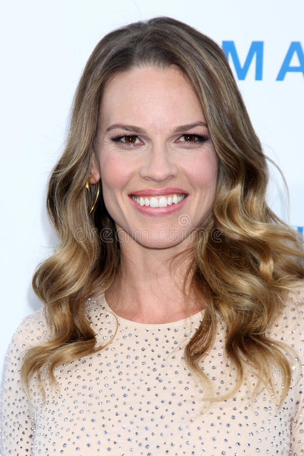 Hilary Swank stock foto's