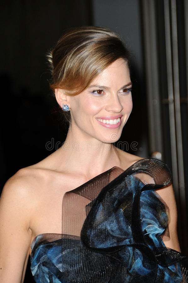hilary swank obrazy stock