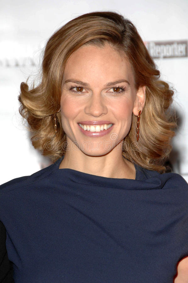 Hilary Swank fotografia royalty free