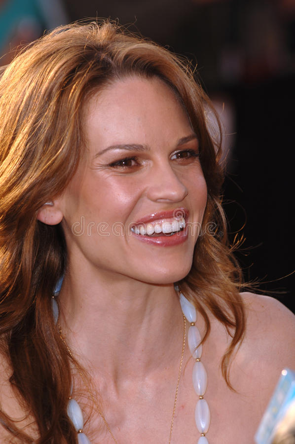 Hilary Swank stock foto