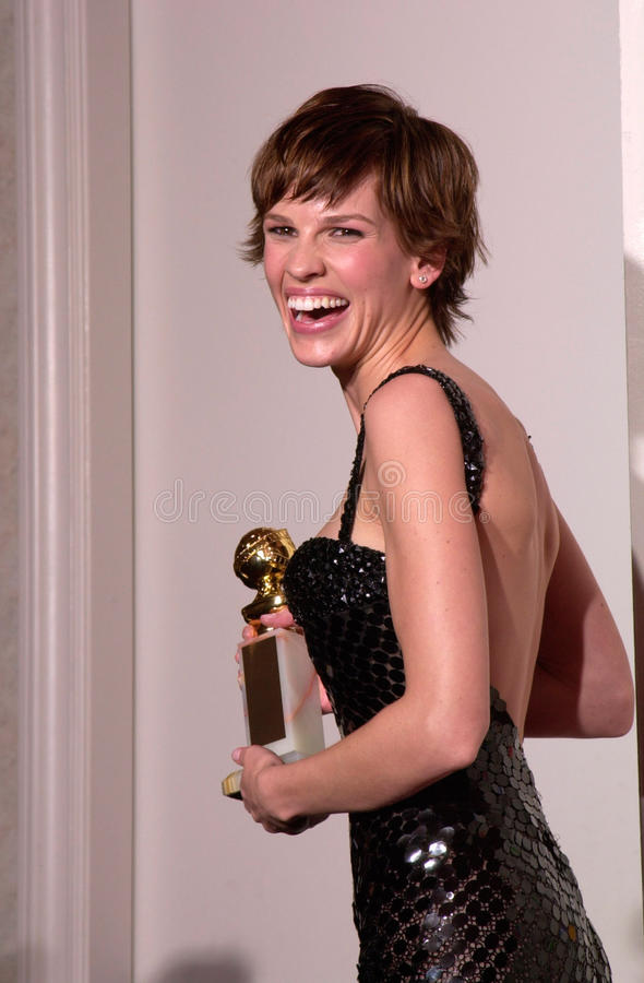 Hilary Swank royalty free stock photos