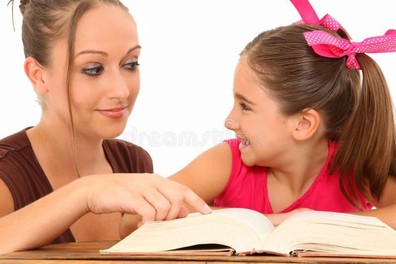 Hilfe des Lehrers lizenzfreie stockbilder