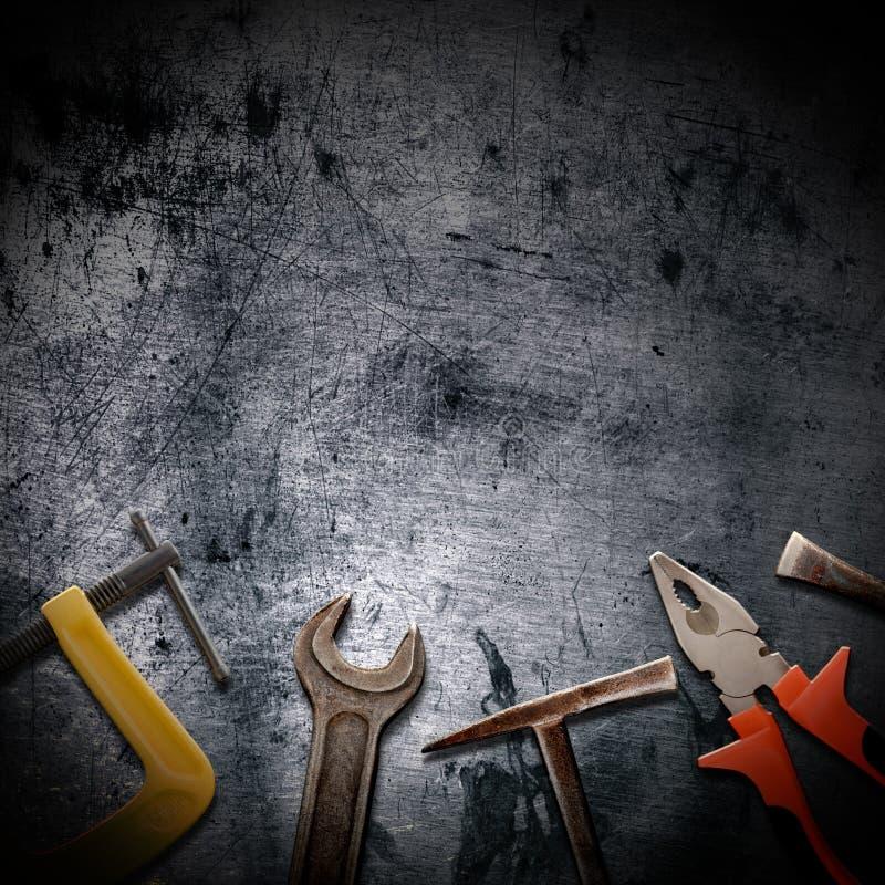 Hilfsmittel für Reparaturen lizenzfreies stockfoto
