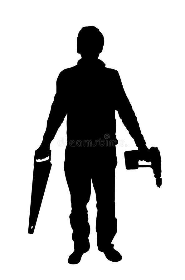 Download Hilfsmittelmann stock abbildung. Illustration von abbildung - 868250