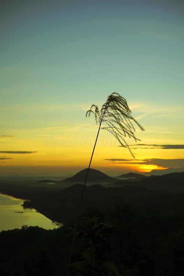Hill Alam Rindu στοκ φωτογραφίες με δικαίωμα ελεύθερης χρήσης