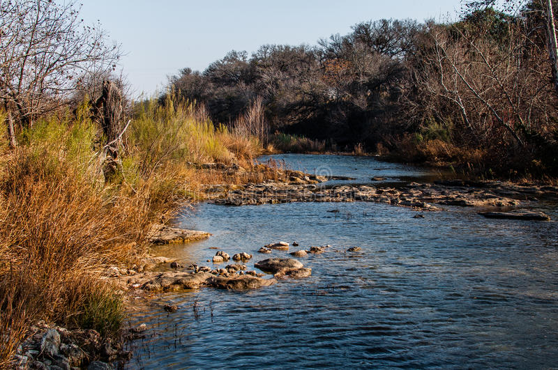 Hill Country Creek royalty free stock photos