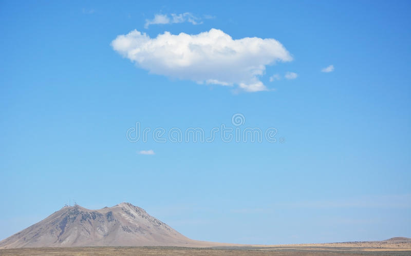 Download Hill At The Crater Of The Moon Stock Image - Image: 34303957