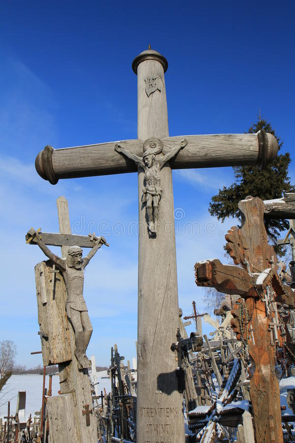 Hill Of Crosses Editorial Stock Image