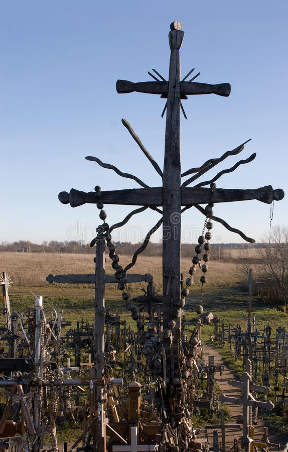 Download Hill Of Crosses, Lithuania Royalty Free Stock Image - Image: 19478266