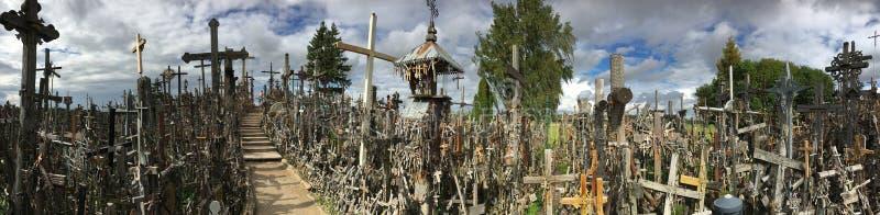 Hill of Crosses - Siauliai - Lithuania stock photography