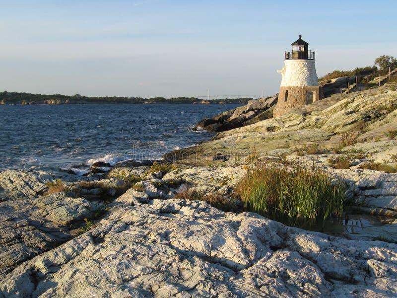 hill grodowa latarnia morska fotografia stock