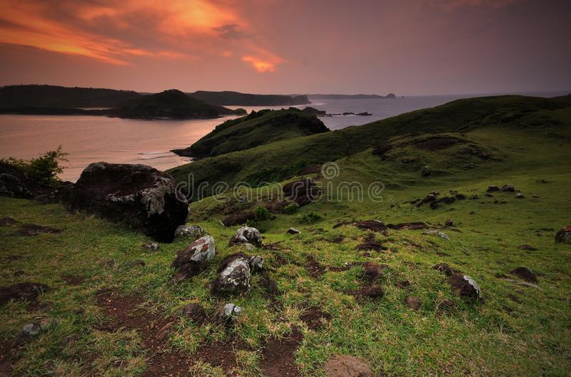 Hill Merese ανατολής στοκ φωτογραφία με δικαίωμα ελεύθερης χρήσης