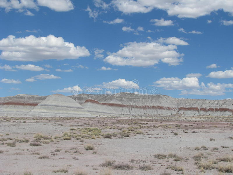 Hill in Painted Desert royalty free stock image