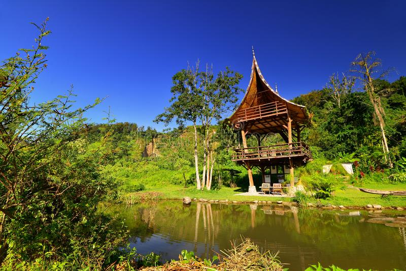 Hill Takuruang οι περισσότερες όμορφες θέσεις που επισκέπτονται στην Ινδονησία στοκ εικόνες με δικαίωμα ελεύθερης χρήσης