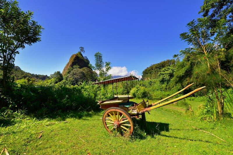 Hill Takuruang οι περισσότερες όμορφες θέσεις που επισκέπτονται στην Ινδονησία στοκ εικόνες