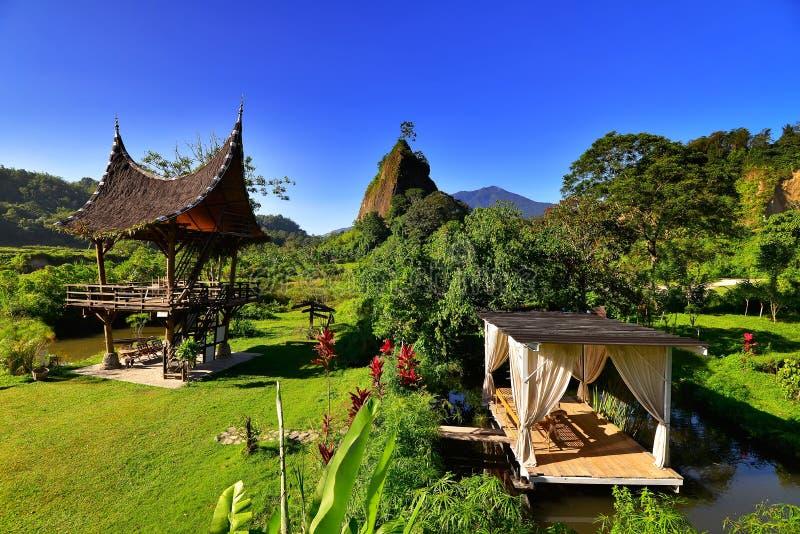 Hill Takuruang οι περισσότερες όμορφες θέσεις που επισκέπτονται στην Ινδονησία στοκ φωτογραφία με δικαίωμα ελεύθερης χρήσης