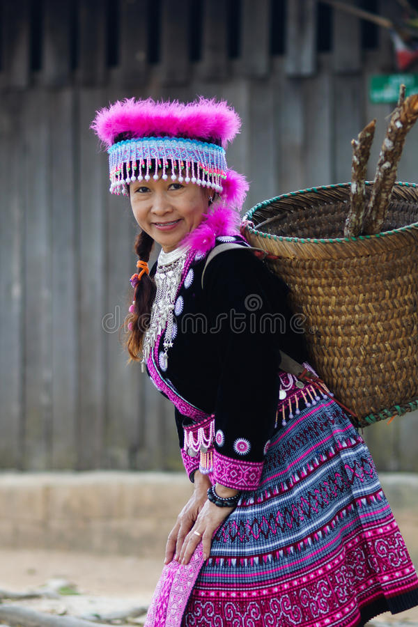 hill tribe woman portrait royalty free stock photos