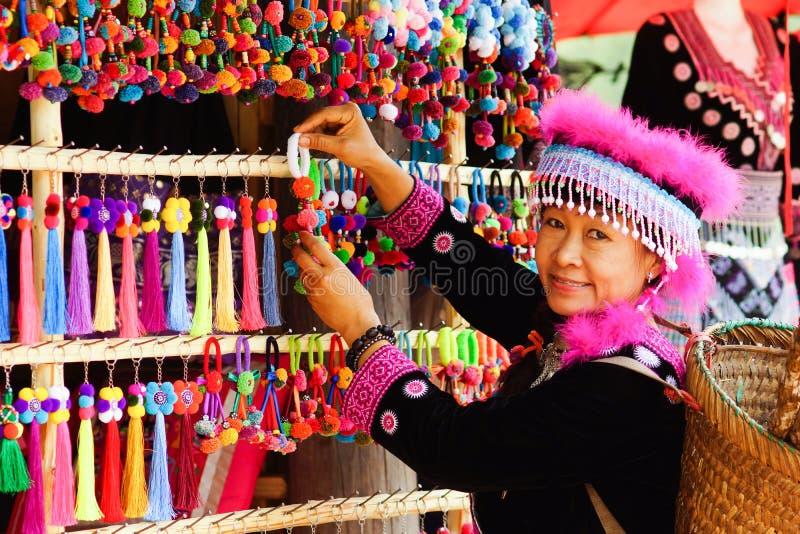 hill tribe woman portrait stock photos