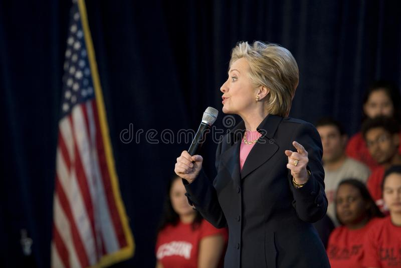 Hillary Clinton 1 royalty free stock image
