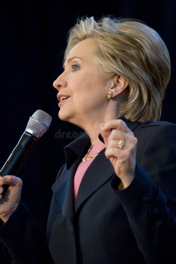 Hillary Clinton 154 stock image
