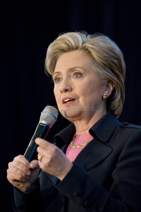 Hillary Clinton 176 photo libre de droits