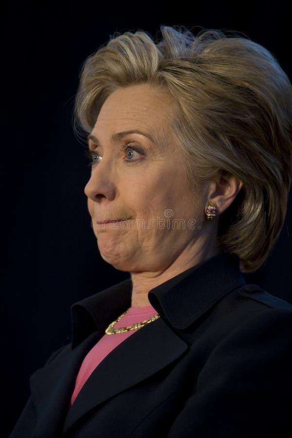 Hillary Clinton 254 photographie stock libre de droits