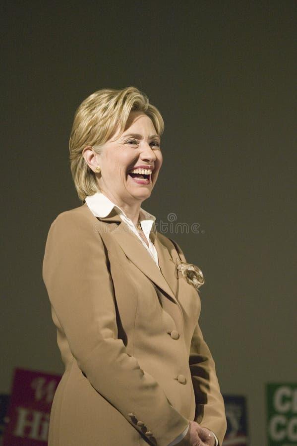 Hillary Clinton fotografie stock
