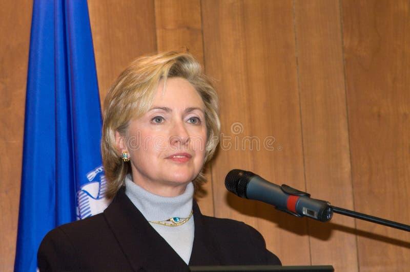 Hillary Clinton foto de stock royalty free