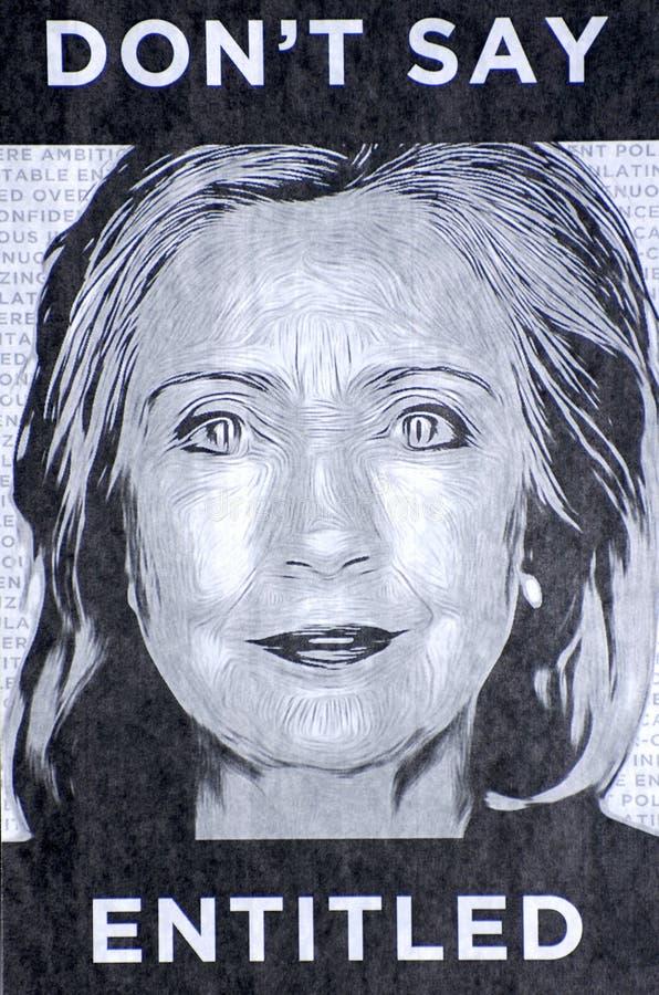 Hillary Clinton stockfotos