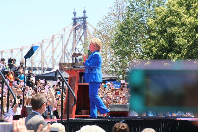 Hillary Clinton fotografia stock