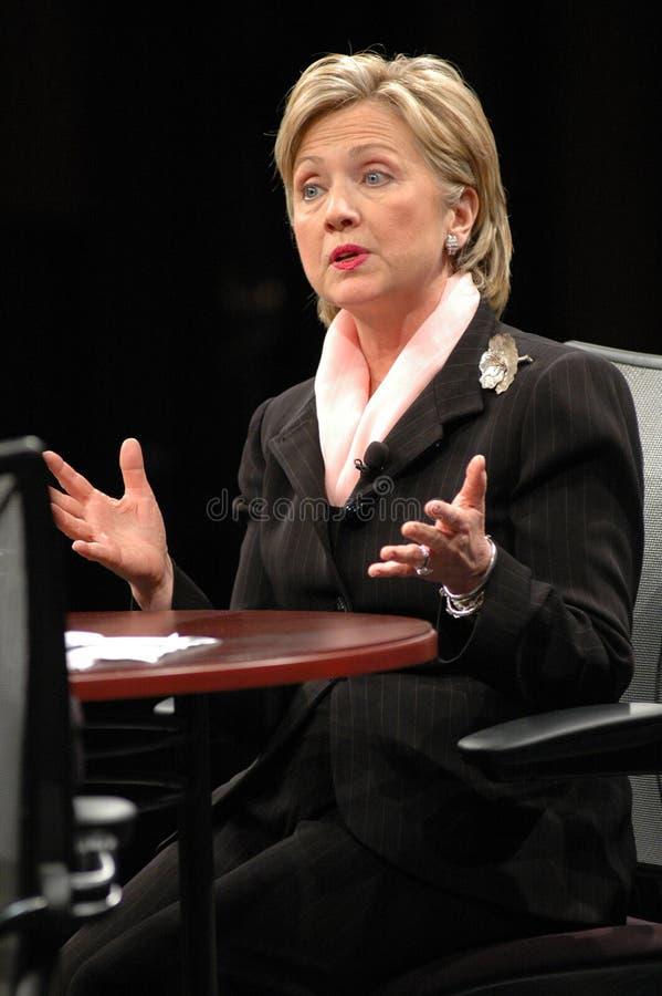 Hillary Clinton imagenes de archivo