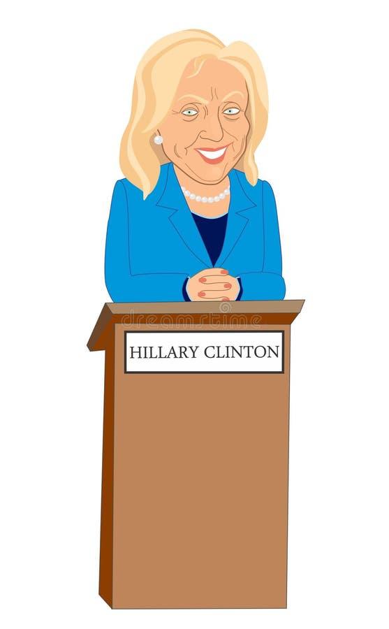 Hillary Clinton photographie stock libre de droits