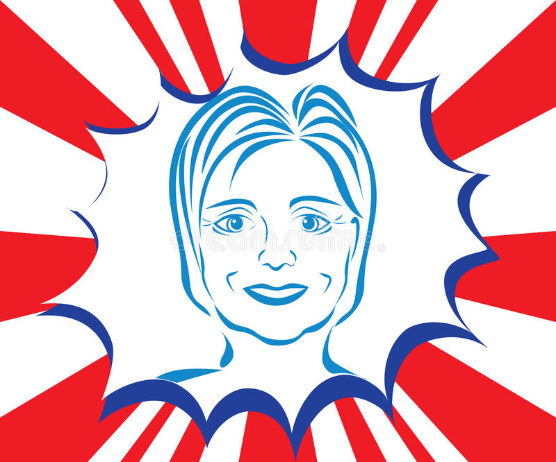 Hillary Clinton Caricature libre illustration