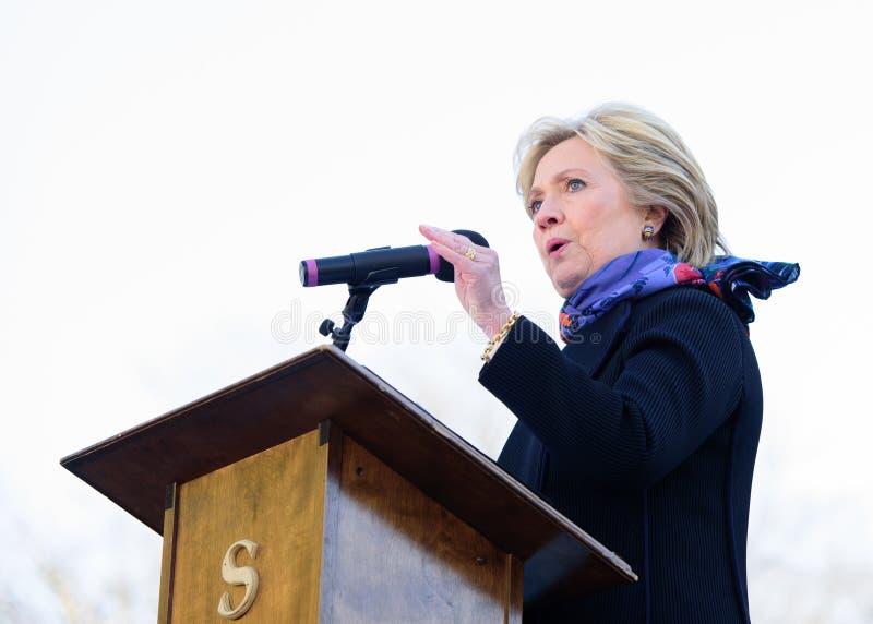 Hillary Clinton - MLKDAY-Verzameling royalty-vrije stock afbeeldingen