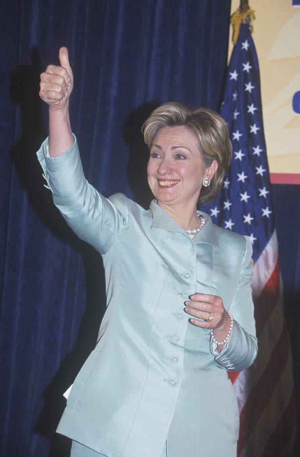 Hillary Rodham Clinton stock photography