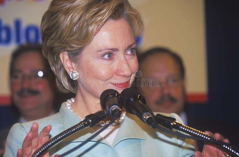 Hillary Rodham Clinton imagen de archivo libre de regalías