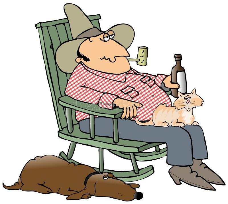 Hillbilly y animales domésticos libre illustration