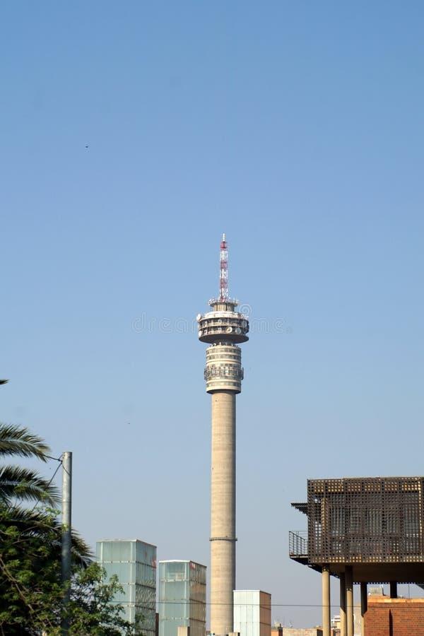 Hillbrow-Turm in Johannesburg stockfoto