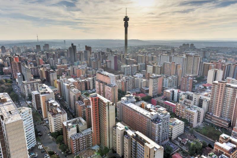 Hillbrowtoren - Johannesburg, Zuid-Afrika royalty-vrije stock afbeeldingen