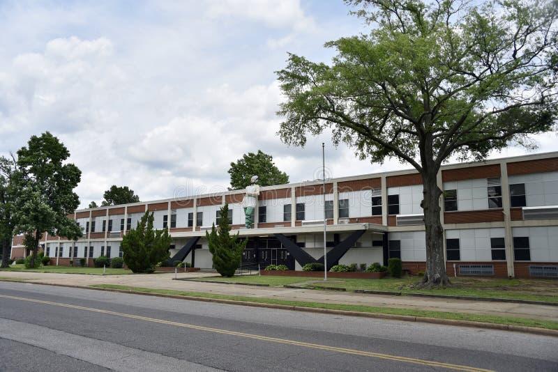 Hillcrest高中,孟菲斯,TN 库存照片