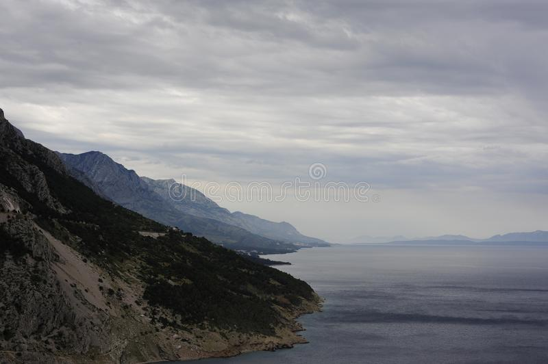 Download Hills along waterfront stock photo. Image of shoreline - 82956730