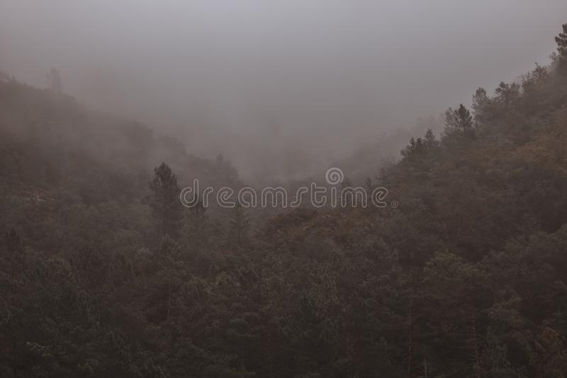 Ghost hills royalty free stock photography