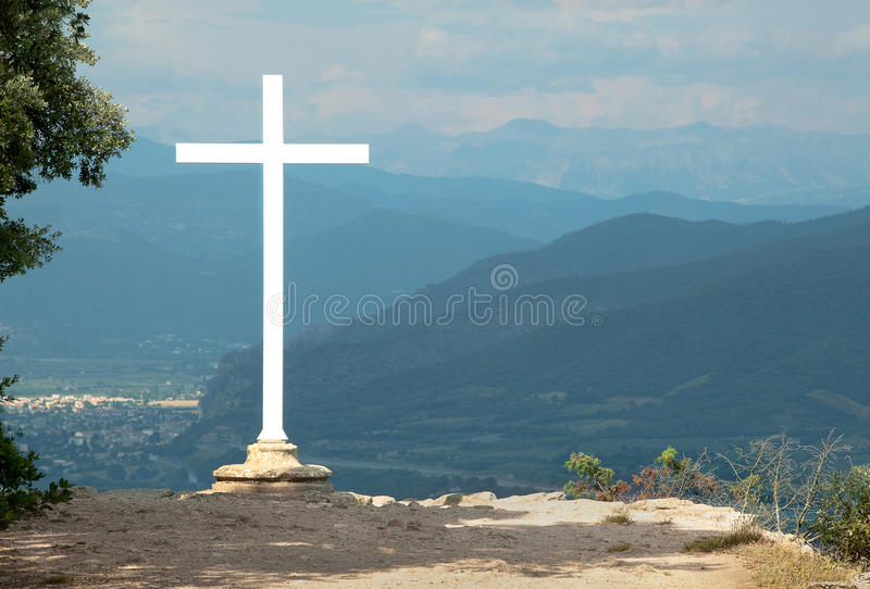 Download Hills of Provence stock photo. Image of mountains, white - 17386024