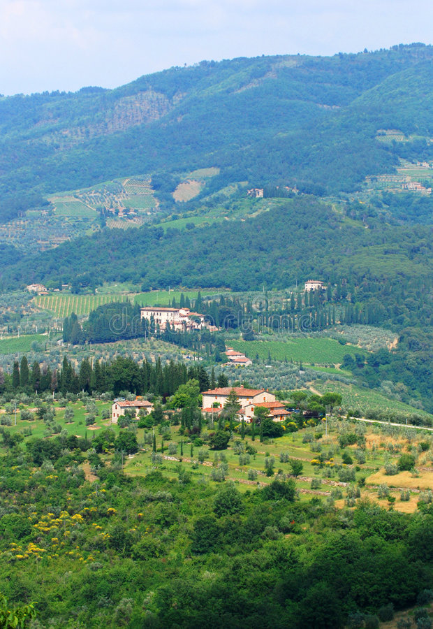 Download Hills of Tuscany stock image. Image of scene, outdoors - 2743095
