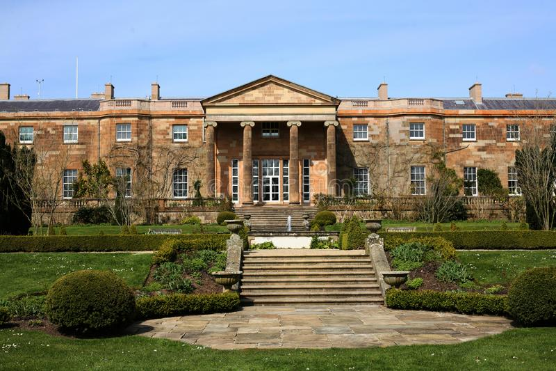 Hillsborough Castle και ιστορικά βασιλικά παλάτια κήπων στοκ φωτογραφίες με δικαίωμα ελεύθερης χρήσης