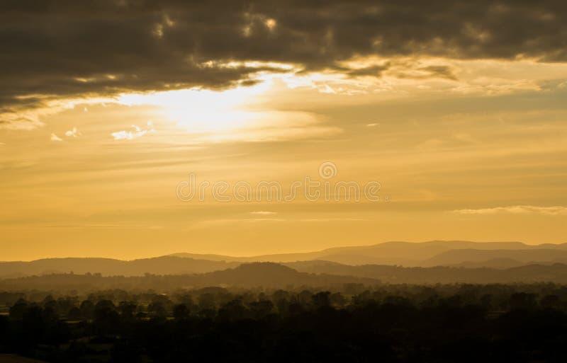 Hillscape photo stock