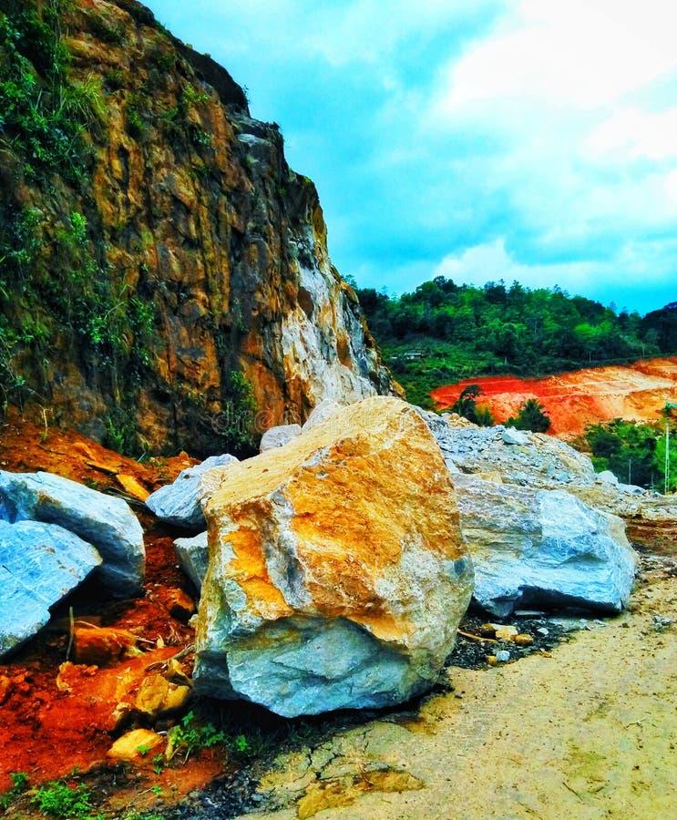 hillside стоковое фото rf