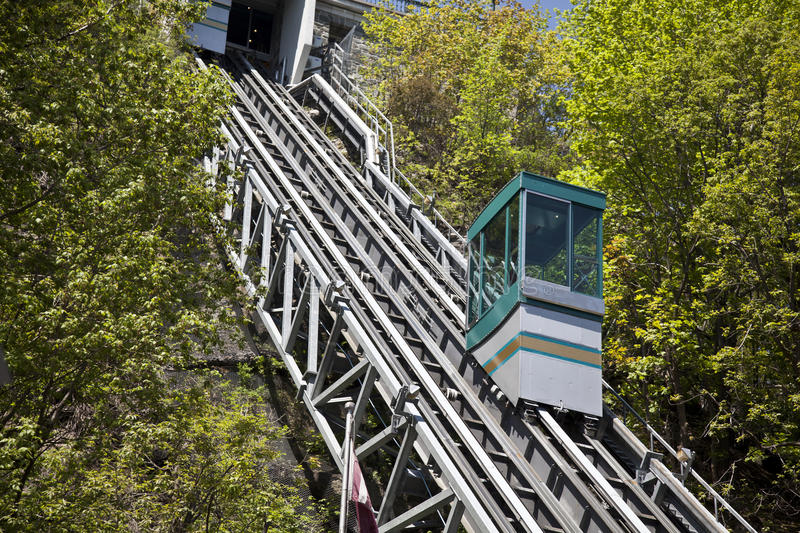 Download Hillside Tram stock photo. Image of transportation, tram - 19906316