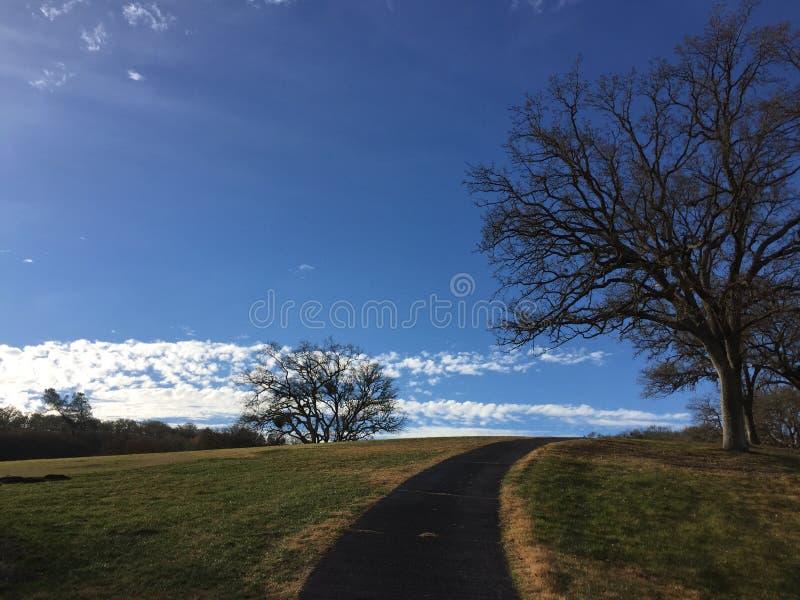 hilltop imagen de archivo libre de regalías